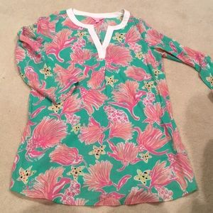 Lilly swimsuit coverup or tunic
